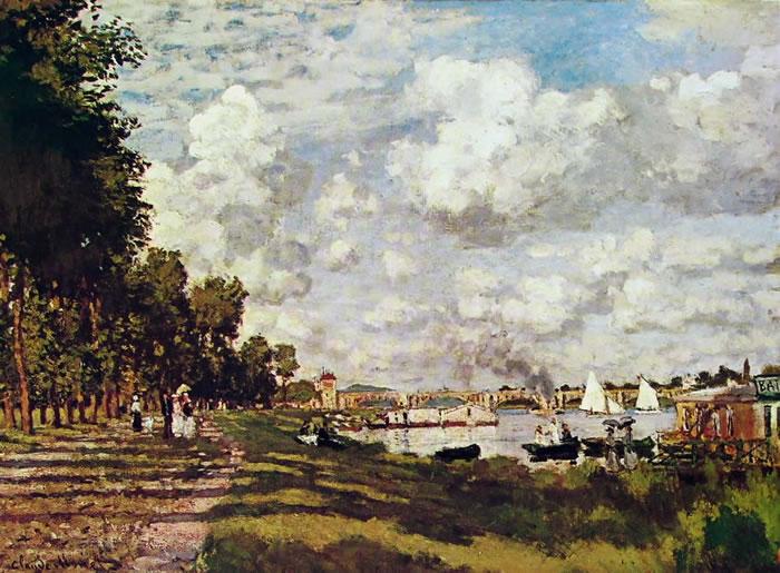 Monet - il bacino di Argenteuil