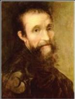 Un autoritratto di Michelangelo