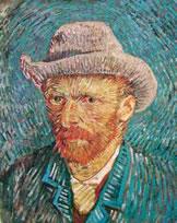 Un autoritratto di Van Gogh