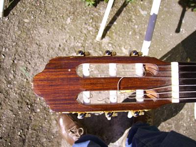 Capotasto della chitarra