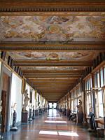 Veduta del Corridoio degli Uffizi