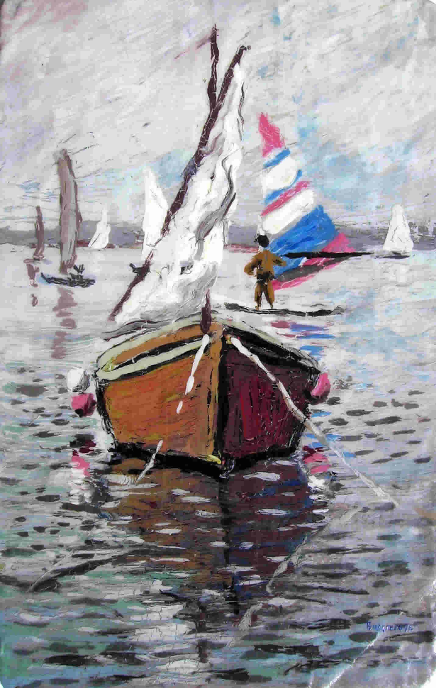 marina con barca