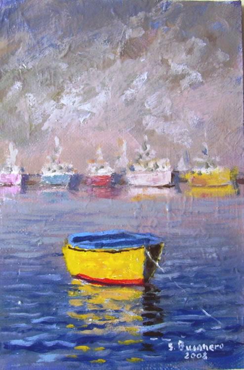Paesaggi marini e vita di mare nei miei quadri for Paesaggi marini dipinti