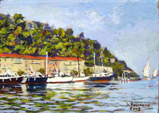 La Pilarella: Barche al molo