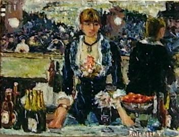 Bar a la folies bergère (Manet) anno 1997