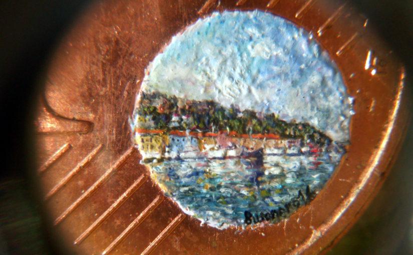Una breve panoramica sulla tecnica della pittura microscopica