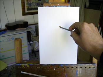 pennellata verticale