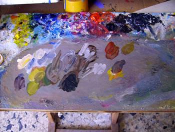 i colori della tavolozza