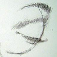 occhio chiuso profilo 1