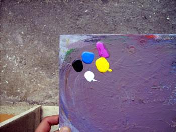 colori acrilici di base