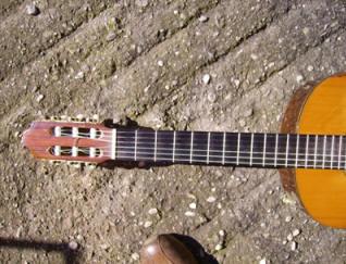Manico della chitarra: tastiera