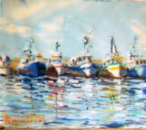 pescherecci in porto