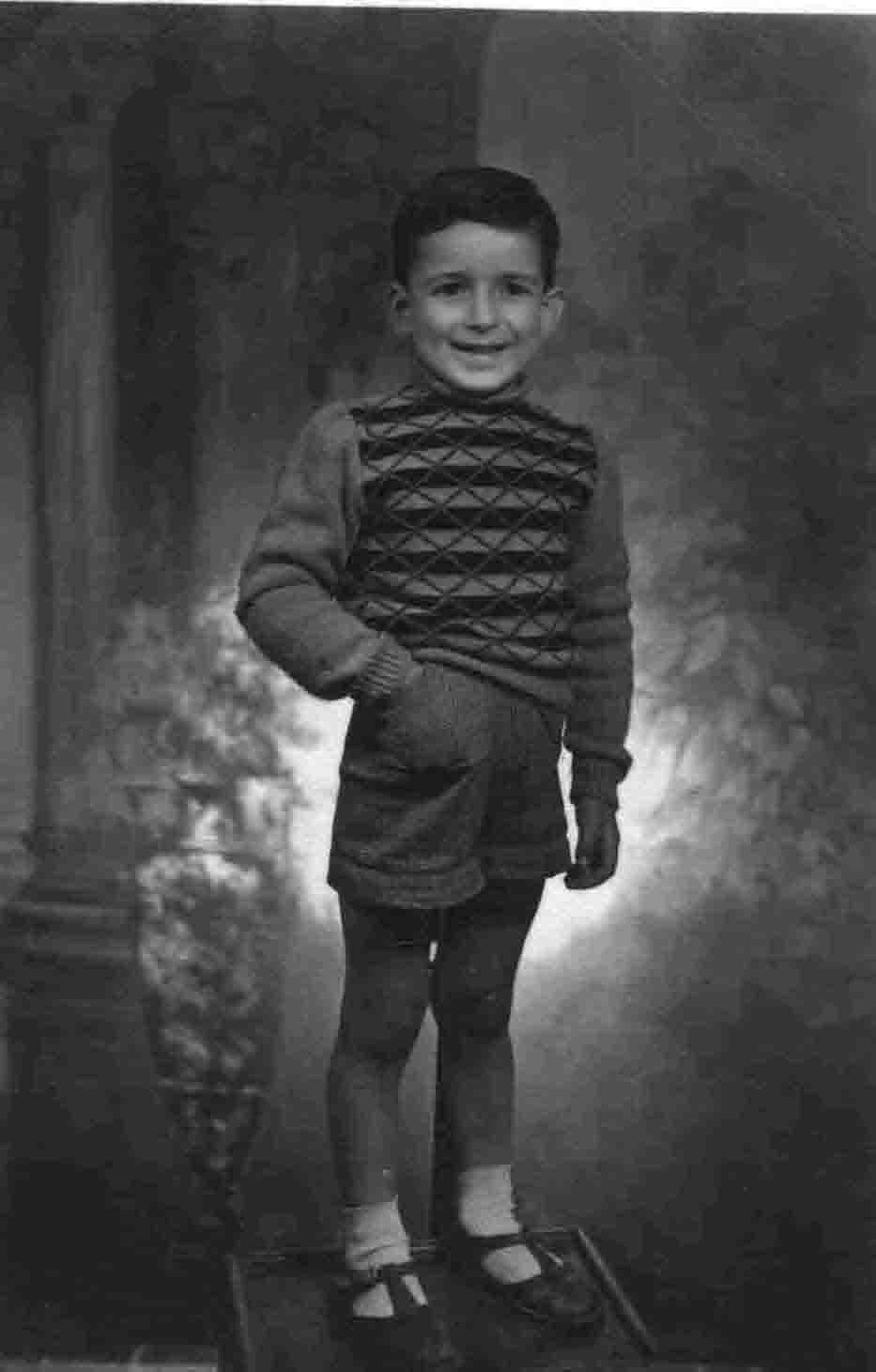 Stefano a quattro anni