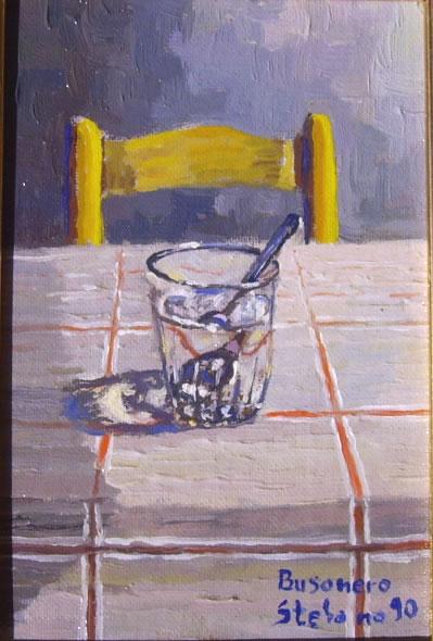 Calore e colore nei dipinti di Busonero: Trasparenza
