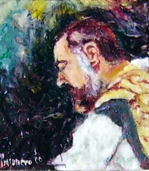 Ritratto microscopico di San Pio