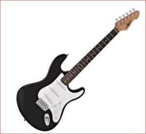 Una chitarra elettrica per un bambino