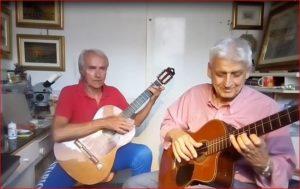 Findi e Giocatore ad imparare la chitarra con il fai da te