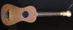 Chitarra a sei corde realizzata nel 1795 da Gian Battista Fabricatore